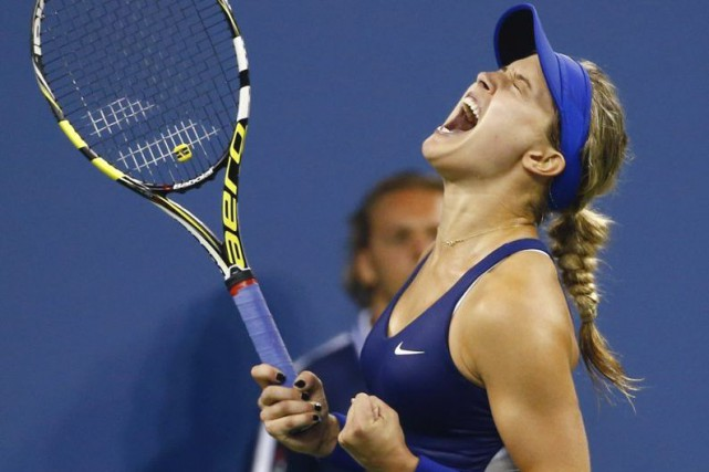Eugenie Bouchard... (Photo Adam Hunger, archives Reuters)