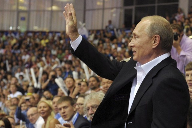Jusqu'à présent, la Russie avait seulement demandé que... (PHOTO ALEXEY DRUZHININ, AFP)