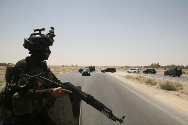 Environ 15 000 Turkmènes chiites étaient coincés à... (PHOTO AZHAR SHALLAL, ARCHIVES AFP)