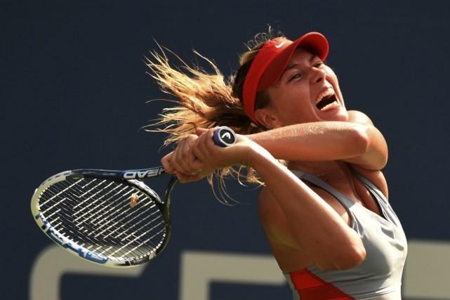 Maria Sharapova... (PHOTO TIMOTHY A. CLARY, AFP)