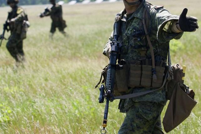 Participer à l'exercice permettra aux Forces canadiennes de... (Photo Archives Reuters)