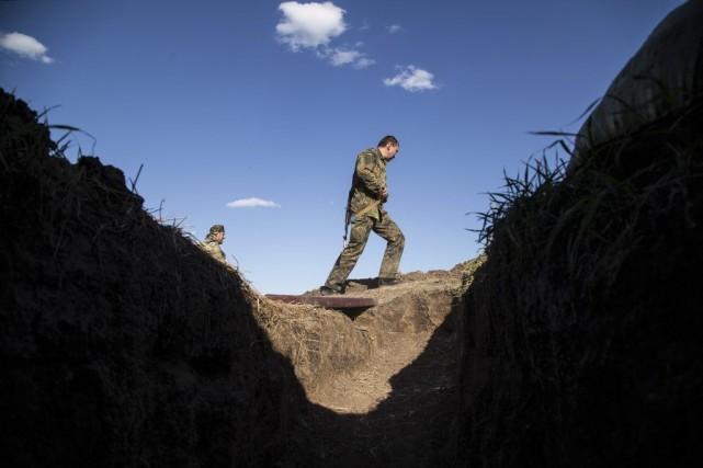 Ce retrait del'aéroport de Lougansk s'ajoute à une... (PHOTO OLEKSANDR RATUSHNIAK, AFP)