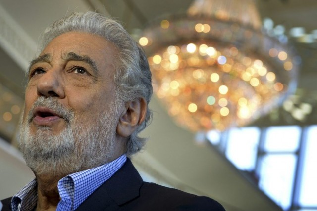 Placido Domingo... (PHOTO MARK RALSTON, AGENCE FRANCE-PRESSE)