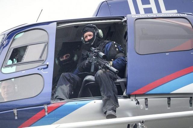 La police a arrêté le suspect de 48... (Photo Martin Hunter, AP)