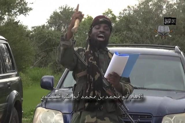 Le chef de Boko Haram, Abubakar Shekau.... (PHOTO ARCHIVES AFP/BOKO HARAM)