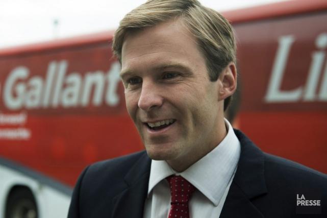 Le chef du Parti libéral du Nouveau-Brunswick, Brian... (PHOTO ANDREW VAUGHAN, LA PRESSE CANADIENNE)