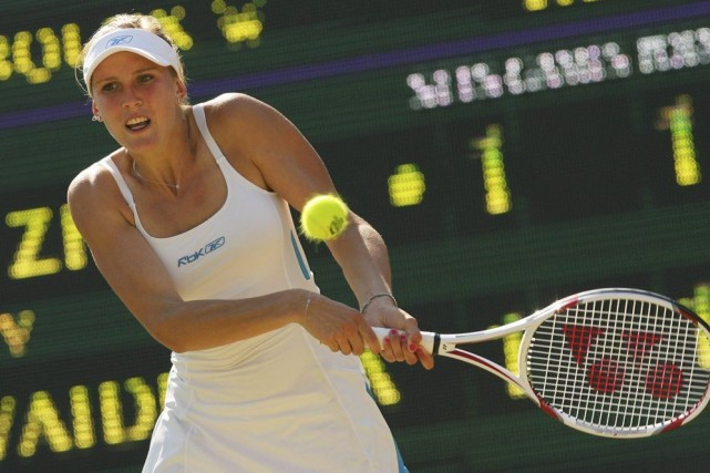 Nicole Vaidisova, en 2008.... (PHOTO CARL DE SOUZA, ARCHIVES AGENCE FRANCE-PRESSE)