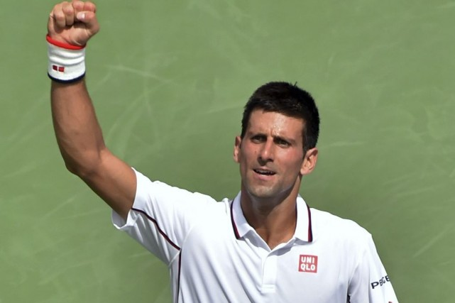 Novak Djokovic... (PHOTO STAN HONDA, AGENCE FRANCE-PRESSE)