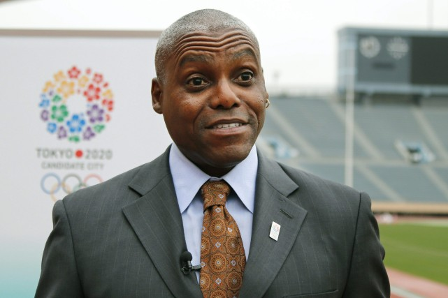 Carl Lewis... (Photo Koji Sasahara, AP)