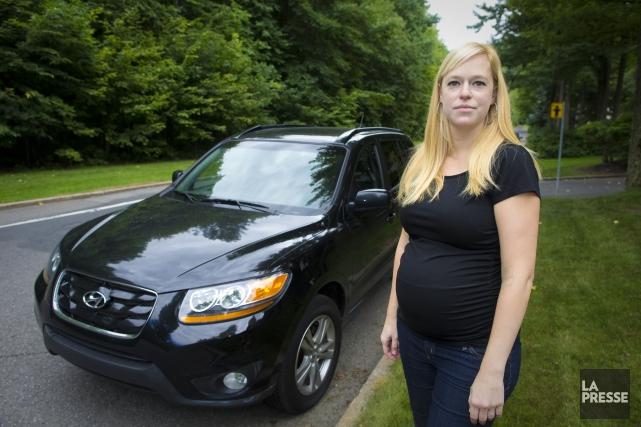 Valérie Riendeau poursuit Hyundai pour un défaut majeur... (PHOTO ANDRÉ PICHETTE, LA PRESSE)