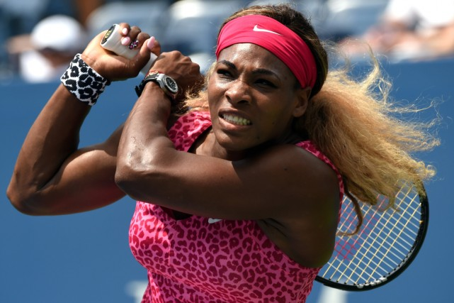 Serena Williams... (Photo Timothy A. Clary, AFP)