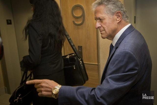 Tony Accurso, à son arrivée à la Commission,... (PHOTO IVANOH DEMERS, LA PRESSE)