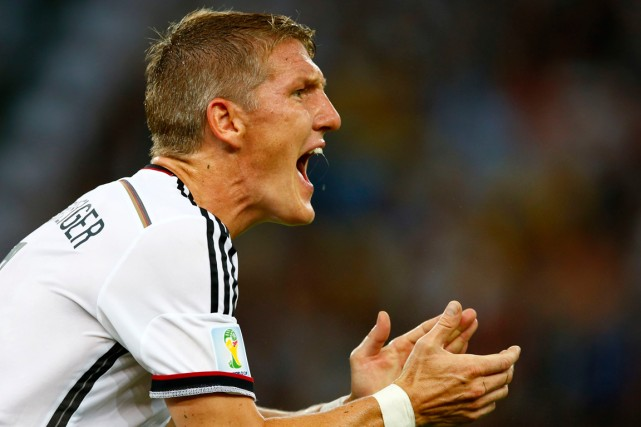 Bastian Schweinsteiger... (Photo Eddie Keogh, Reuters)