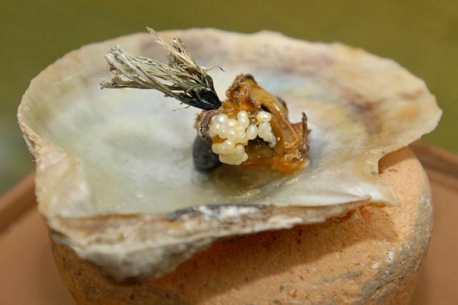 Un Italien désireux d'épater son amie a récemment commandé des huîtres dans un... (Photo Mohammed Zaatari, archives AP)