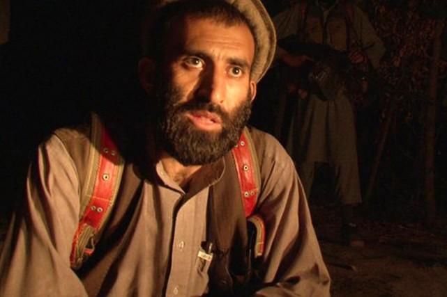 Le commandant Mirwais du Hezb-e-Islami.... (PHOTO BBC)