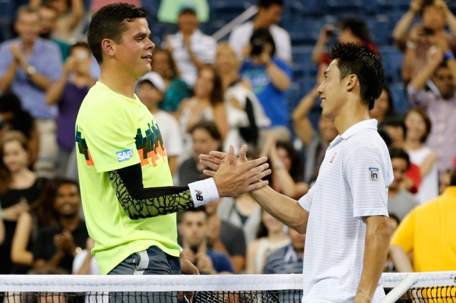 Le Canadien Milos Raonic s'est incliné devant le... (Photo Adam Hunger, Reuters)