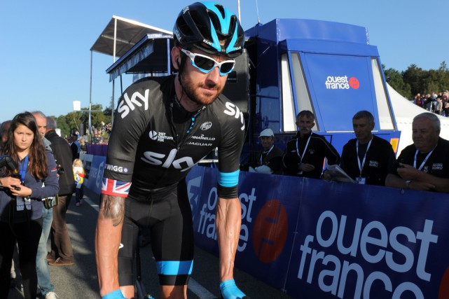 Bradley Wiggins... (Photo Fred Tanneau, archives AFP)