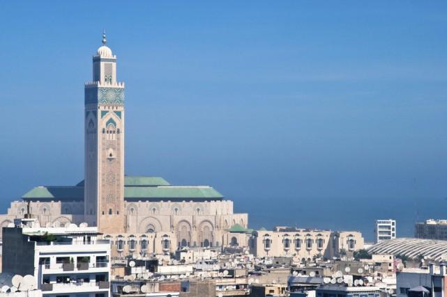 La mosquée Hassan II à Casablanca, au Maroc.... (Photo Digital/Thinkstock)
