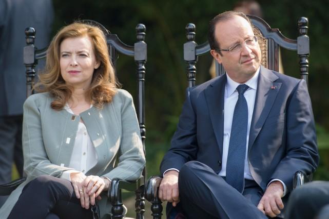 Valérie Trierweiler est séparée de François Hollande depuis... (PHOTO BERTRAND LANGLOIS, ARCHIVES AFP)