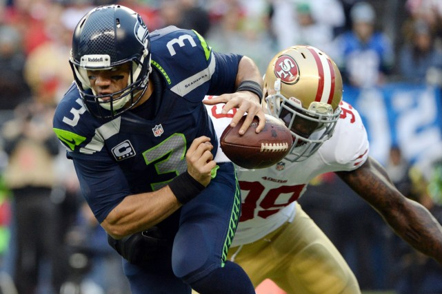 Les Seahawks de Seattle et les 49ers de... (Photo Kyle Terada, USA Today)