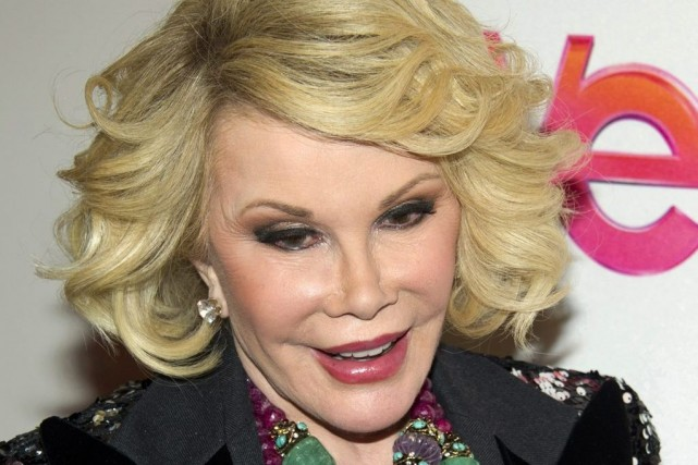 Joan Rivers en 2012.... (Photo AP)