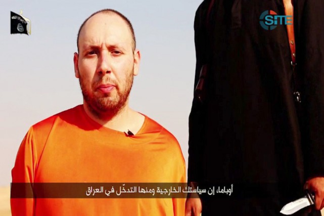 Steven Sotloff... (IMAGE ARCHIVES AFP/SITE INTELLIGENCE GROUP)