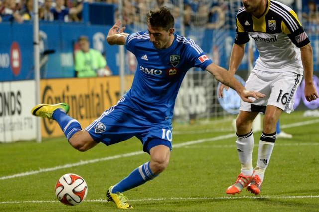 Ignacio Piatti a inscrit quatre buts et offert... (Photo Eric Bolte, USA Today)