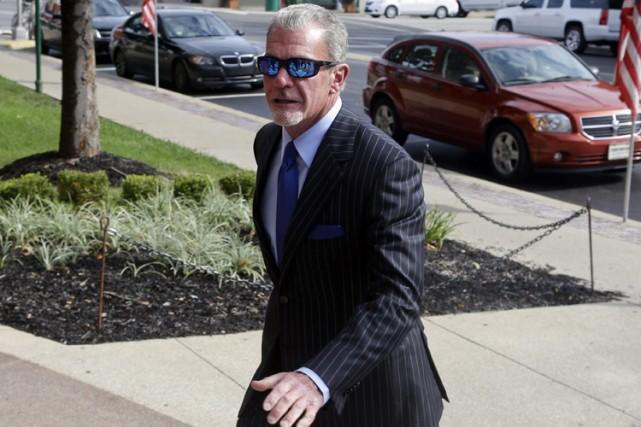 Jim Irsay,qui a plaidé coupable à une accusation... (Photo: AP)