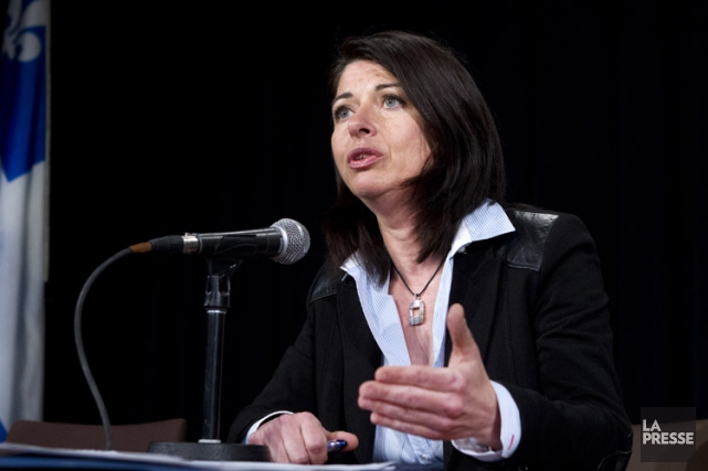Mme Beauchamp occupe également le poste de déléguée... (Archives La Presse)