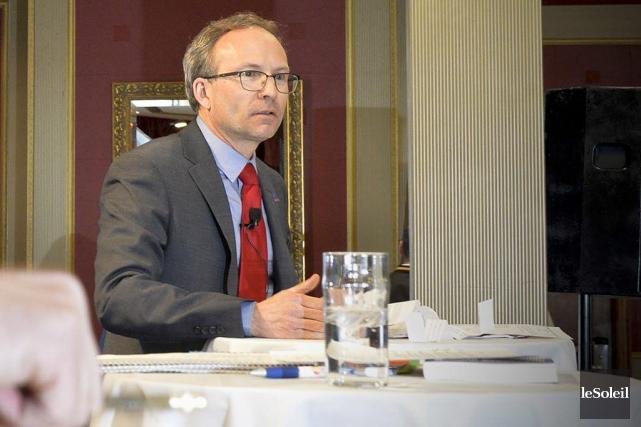 Le président du Conseil du trésor, Martin Coiteux.... (Photo Le Soleil)