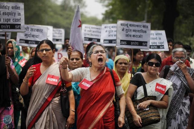 L'Inde a durci sa législation sur les crimes... (PHOTO ALTAF QADRI, ARCHIVES AP)