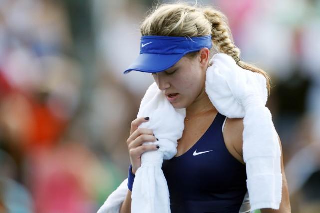 Eugenie Bouchard n'avait pas des attentes très élevées... (Photo Jerry Lai, USA Today)