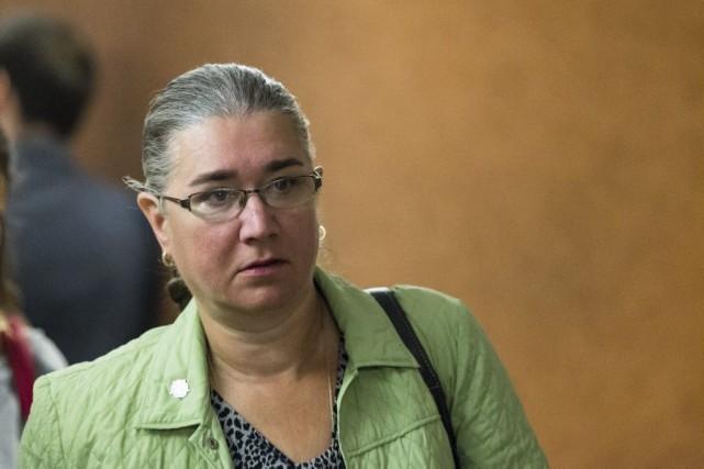 Pamela Porter, le 22 août dernier.... (PHOTO EDOUARD PLANTE-FRECHETTE, ARCHIVES LA PRESSE)
