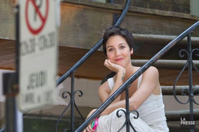 Plusieurs nouveaux personnages, incarnés par Bianca Gervais (notre... (Photo: Ivanoh Demers, archives La Presse)