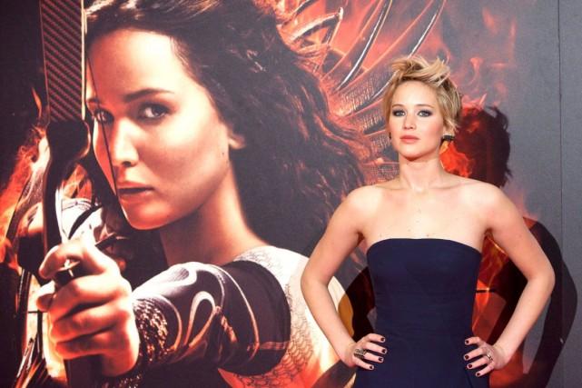 L'actrice Jennifer Lawrence compte parmi les victimes de... (Photo Archives AP)