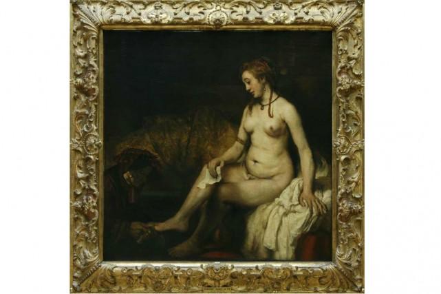 Bethsabée au bain tenant la lettre du roi... (Photo: Musée du Louvre)