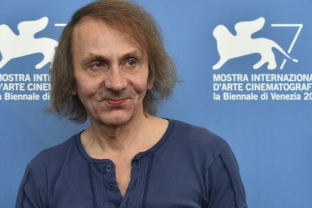 Michel Houellebecq à la Mostra de Venise.... (Photo: archives AFP)