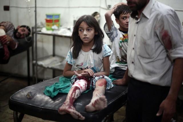 «Un avion a tiré [...] un missile contre... (Photo ABD DOUMANY, AFP)