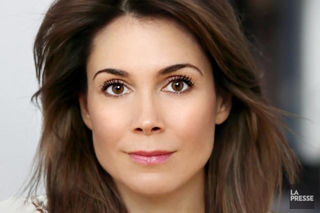 La comédienne Julie Perreault aime avoir une allure... (Photo La Presse)
