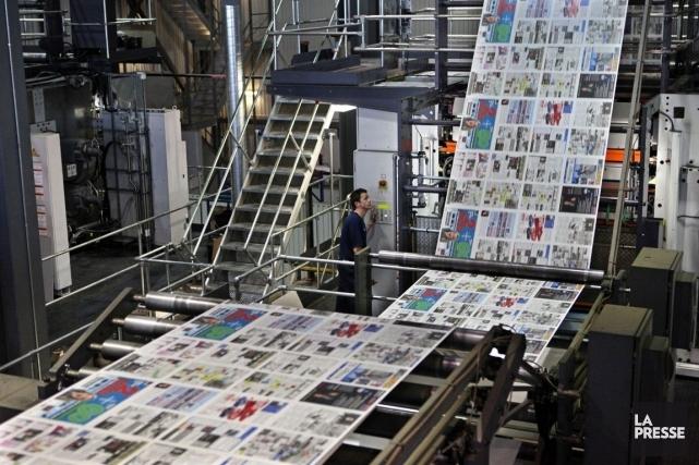 L'acquisition des 74 journaux hebdomadaires québécois de Sun Media aura des... (Photo: La Presse)