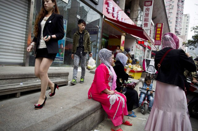 Le Xinjiang connaît une recrudescence des troubles en... (PHOTO ALY SONG, ARCHIVES REUTERS)