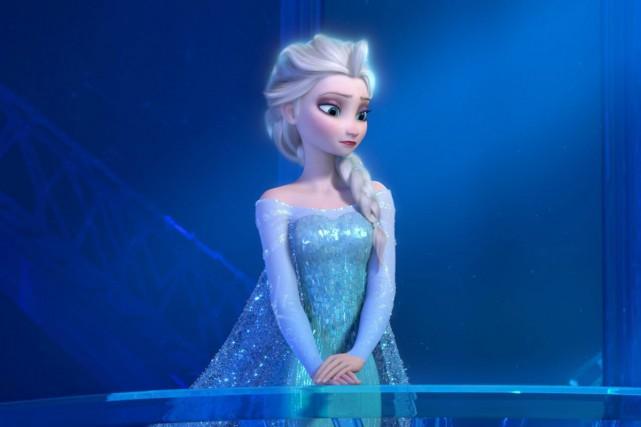 Elsa, l'une des héroïnes de Frozen.... (PHOTO FOURNIE PAR DISNEY)