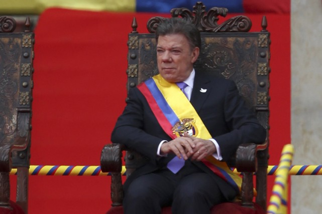 Juan Manuel Santos... (Photo: Reuters)