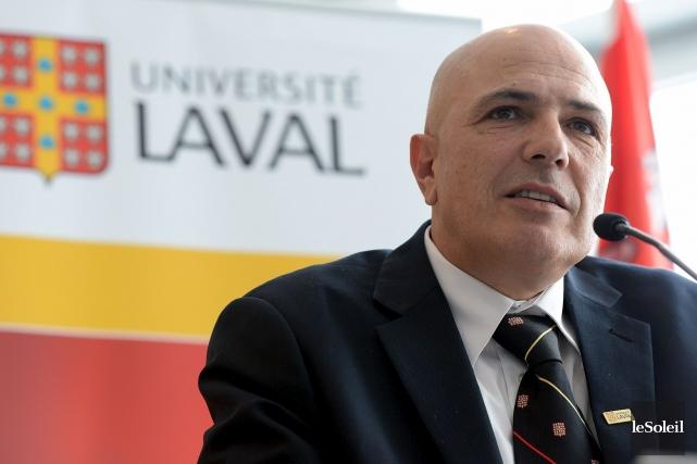 Le vice-recteur exécutif de l'Université Laval, Éric Bauce... (Photothèque Le Soleil, Erick Labbé)
