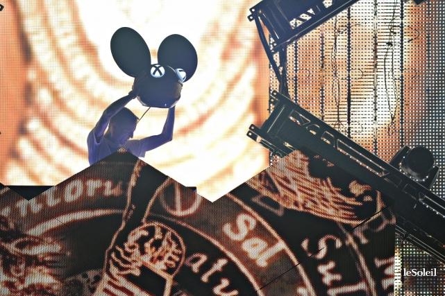«Le logo de deadmau5 à tête de souris... (Photo archives Le Soleil)