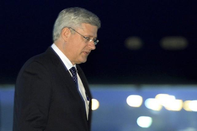 Le premier ministre Stephen Harper.... (PHOTO SEAN KILPATRICK, LA PRESSE CANADIENNE)