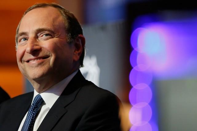Le commissaire de la LNH, Gary Bettman.... (Photo Christinne Muschi, Reuters)