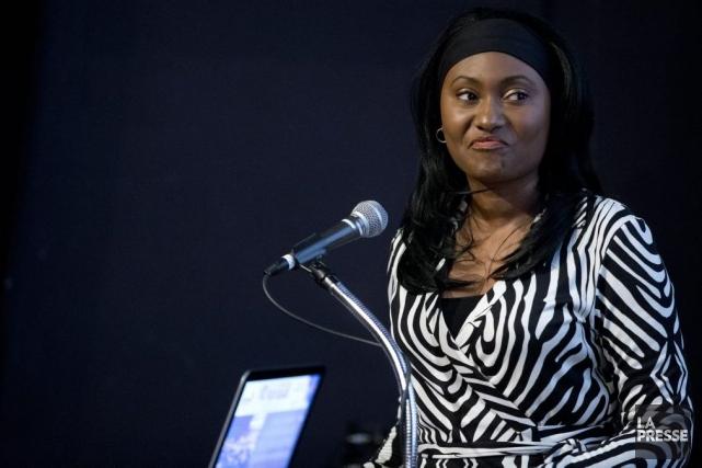 Fabienne Colas, du Festival international du film black... (Photo: François Roy, La Presse)