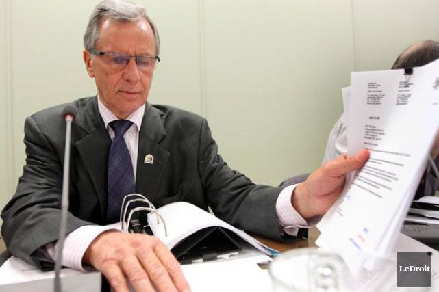 L'ex-maire de Clarence-Rockland, Marcel Guibord, est accusé d'abus... (Étienne Ranger, archives LeDroit)
