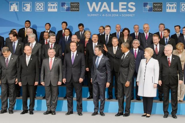 Une soixantaine de chefs d'État et de gouvernement... (PHOTO LEON NEAL, AFP)